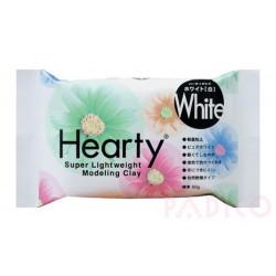 Hearty 50g - Pâte à modeler ultra légère - Blanc