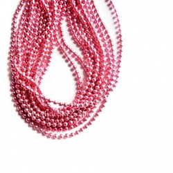 Ball chain 1.5mm - Pink