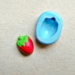 Silikonform 11mm Erdbeere
