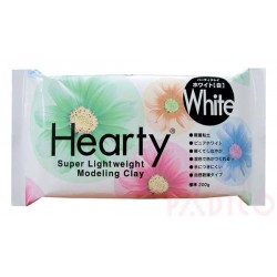 Hearty 200g - Pasta de modelar super ligera - Blanco