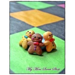 Silicone mini gingerbread man mould