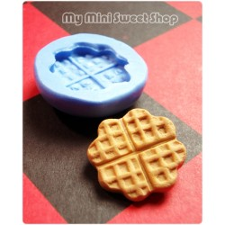 Clover waffle mould