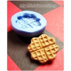 Molde de trébol waffle