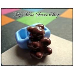 Moule petit nounours en chocolat