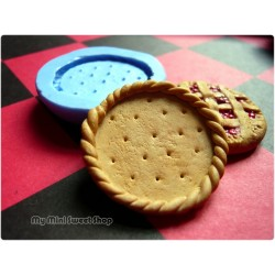 Silicone pie crust mould