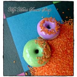 Imitación azúcar - Naranja