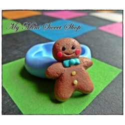 Silicone mini gingerbread man mould