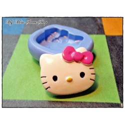 moule en silicone pour fimo hello kitty 25mm. Black Bedroom Furniture Sets. Home Design Ideas