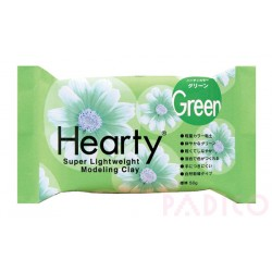 Hearty - Super lightweight modeling clay - Green