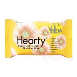 Hearty - Pâte à modeler ultra légère - Jaune