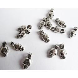 Anhänger Schädel - Silber