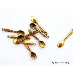 Ciondolo cucchiaio - Argento