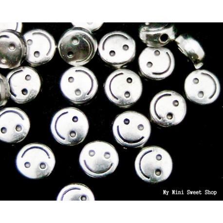 Runde flasche Perle - Silber