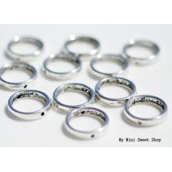 Perle anneau - Argent