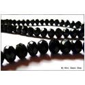 Perle à facettes - Noir