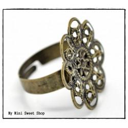 Base de anillo - Bronce