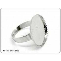Base de anillo 18mm - Bronce