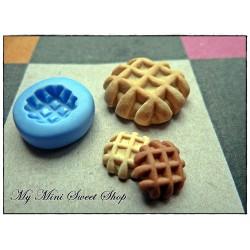 Mini waffle mould