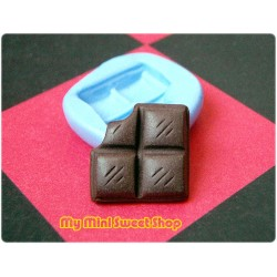 Silikonform mini Schokolade - 17mm