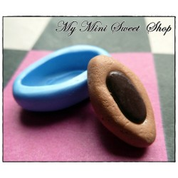 Little boat biscuit silicone mould