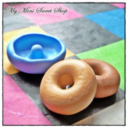 Silikonform Donut - 2cm