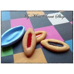 Stampo piccolo biscotto barchetta