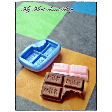 Silikonform mini Schokolade - 10mm