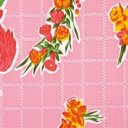 Toile cirée Rosedal - Rose