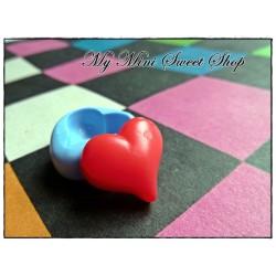Moule cabochon coeur