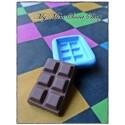 Silikonform 3cm Schokolade