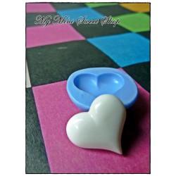 Molde de cabujón de corazón