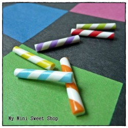 6 Mini Candy Sticks
