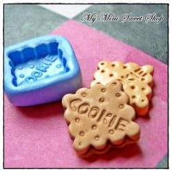 Square cookie mould