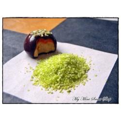 Imitación azúcar pistacho