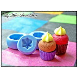 3 pieces muffin moulds set