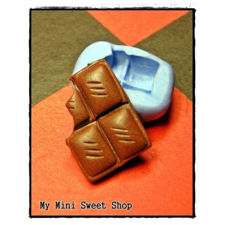 Silikonform mini Schokolade 17mm