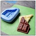 Silikonform mini Milk Schokolade