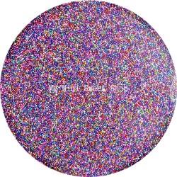 Microbilles multicolores