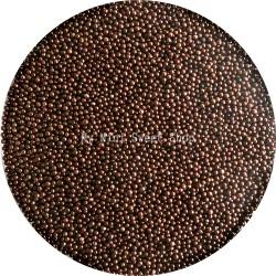 Chocolate minibeads