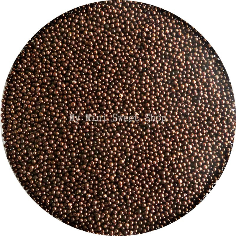 Microparels 1mm miniparels chocolade for Decoratie chocolade
