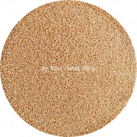 Microbilles dorées
