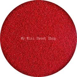 Micro perlas rojo cereza