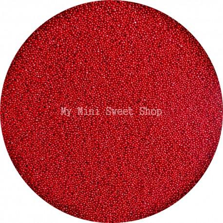Microbilles rouge cerise