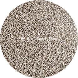 Mini perlas plateadas