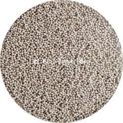 Miniparels zilverkleur