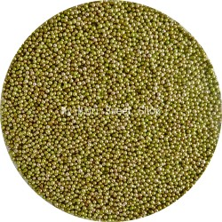 Green minibeads