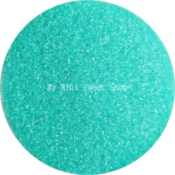 Aqua translucent microbeads