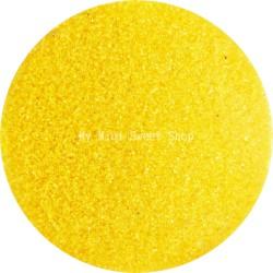 Microbilles jaunes translucides
