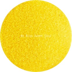 Yellow translucent microbeads