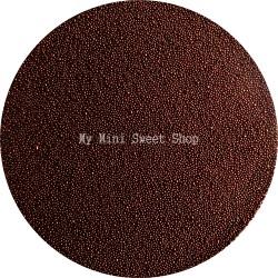 Chocolate microbeads